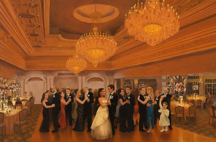 110 - Anthony Galati Live Event Painter