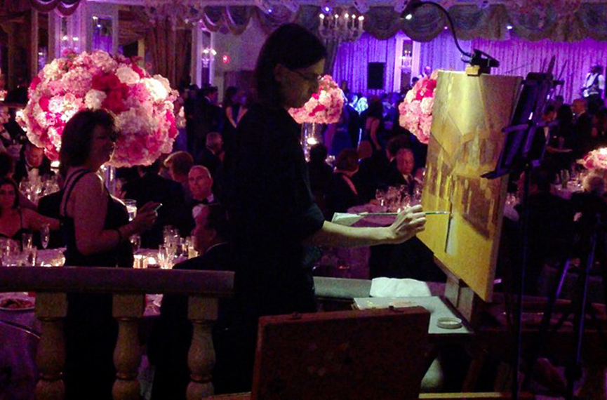 126 - Anthony Galati Live Event Painter