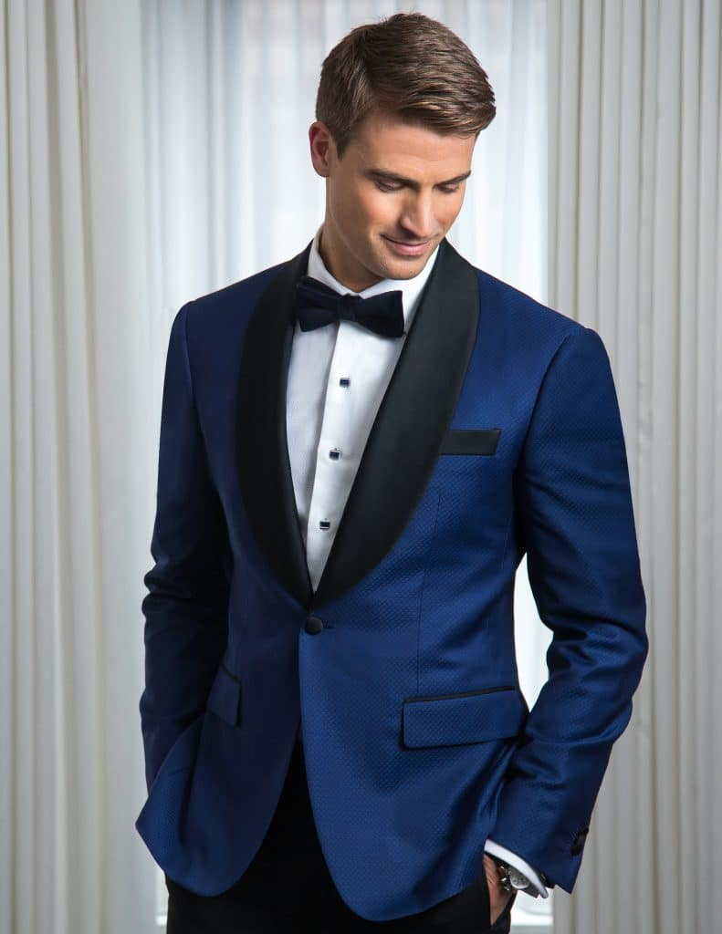 BALANI Custom Clothiers Blue Tuxedo Contrasting Lapels 791x1024 - BALANI