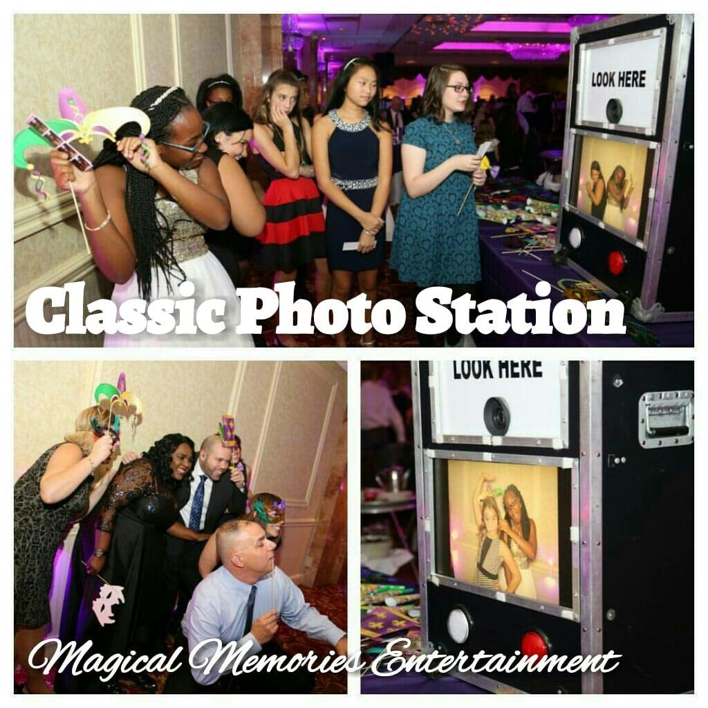Classic Photo Station - Magical Memories Entertainment