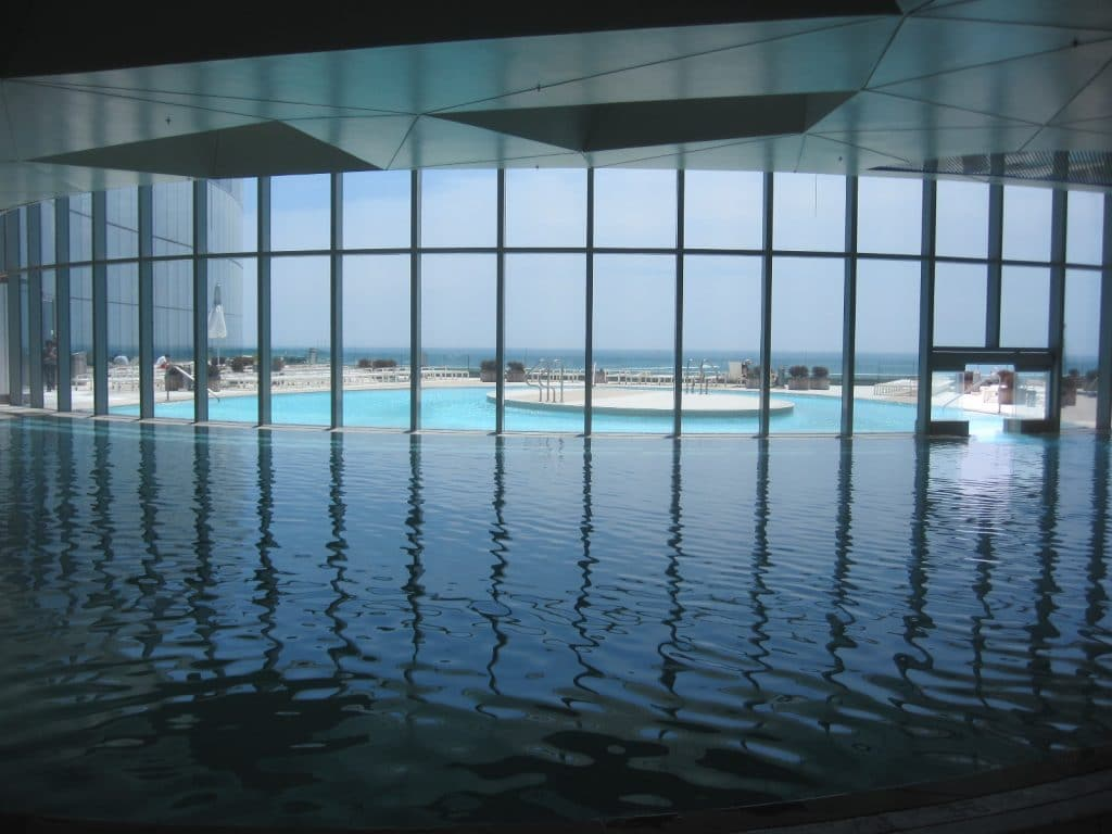 Indoor.outdoor pool side angle 1024x768 - Ocean Resort Casino