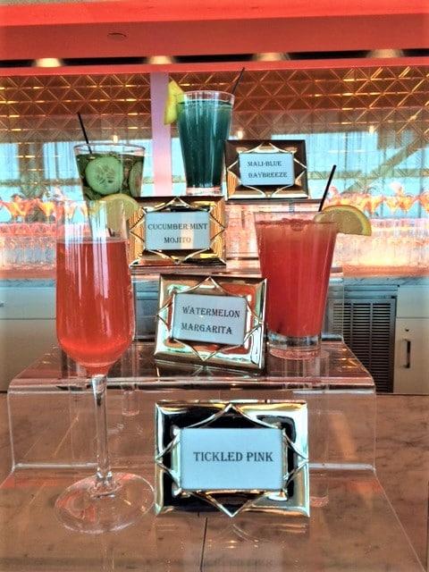 Display of Signature Cocktails - Bar & Cocktails