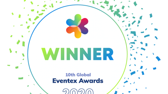 EventexAwards Winner 2020 Light 536x302 - One Atlantic Events awarded Bronze prize by Eventex Awards